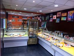 Intérieur pâtisserie Colombes