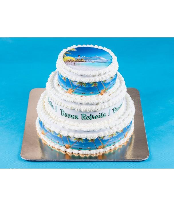 Wedding Cake Photo - 30 / 40  personnes