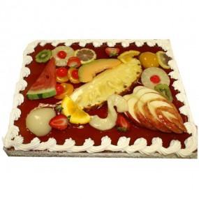 Gâteaux Décors Fruits 10/12 personnes