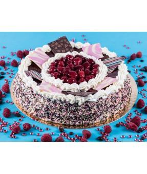 Entremets Chocolat/Framboise