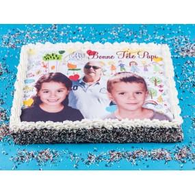 Gâteaux Décors Photos 18/24 personnes