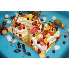 Gâteau / chiffre 10/12 personnes