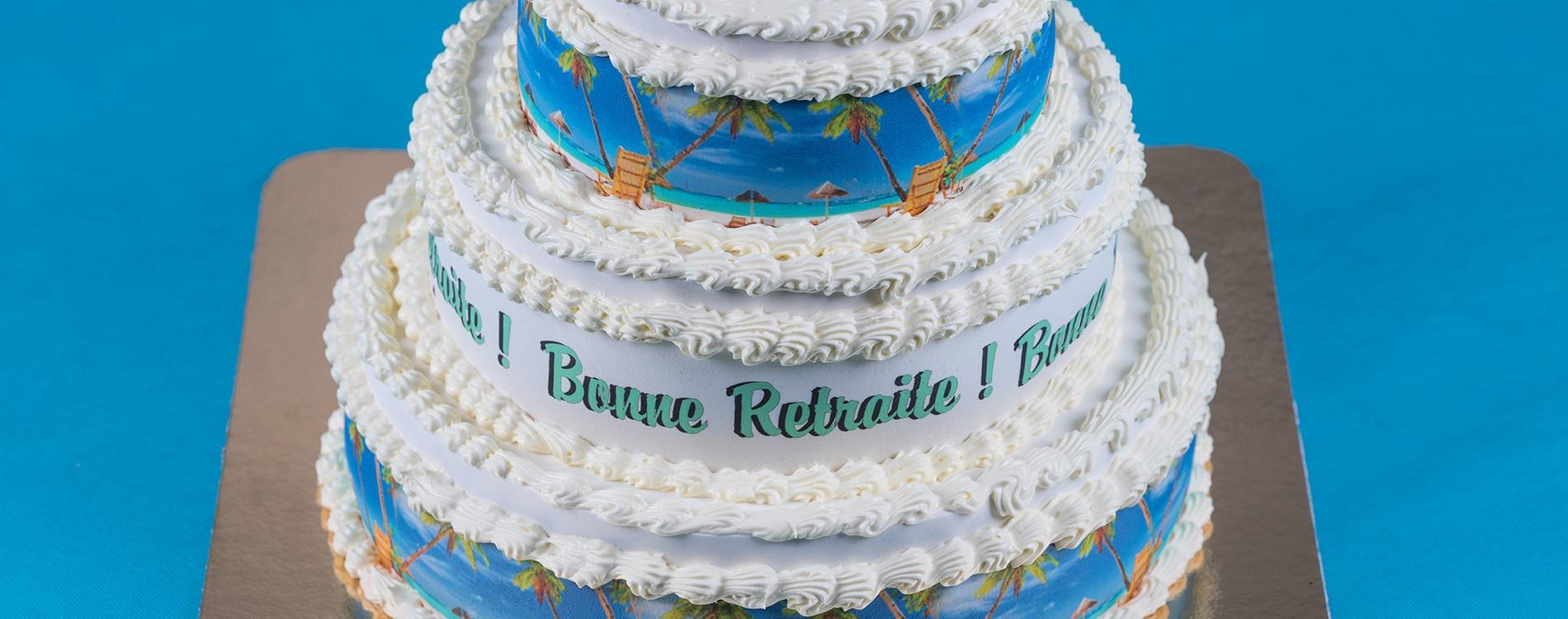 Gâteaux Décors Fruits 1824 Personnes